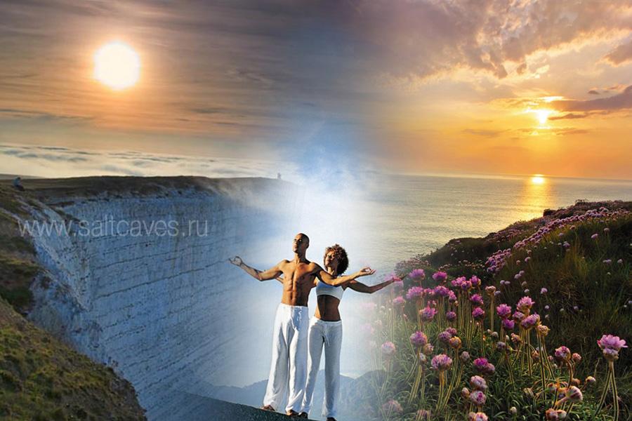 Живой природный воздух, медитация